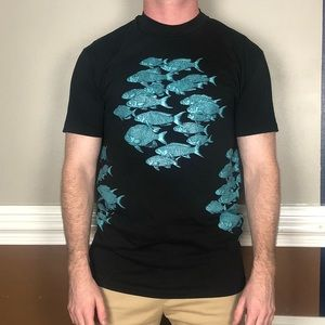 Vintage School of Fish T-shirt